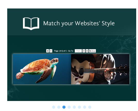 wix online magazine flip